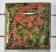 8617 - 15 mm Epidot quadrato doppia foratura