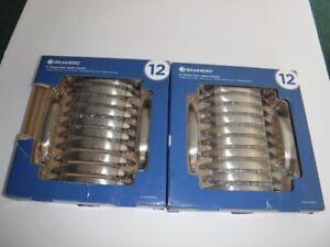 "New Lot of 2 Packs Brainerd Satin Nickel 3"" Ethan Drawer Cabinet Pull 24 Handles"