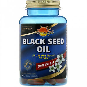 Nature's Life, Black Seed Oil, 1000 Mg, 90 Softgels
