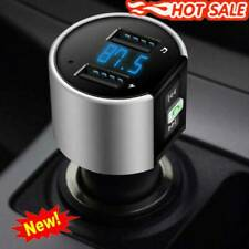 Bluetooth Car Kit Wireless FM Transmitter Dual USB Charger Adapter  MP3 Player