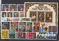 Briefmarken Liechtenstein gestempelt 1981 kompletter Jahrgang Liechtenstein gest