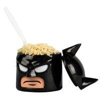 DC Comics WB Superhero Lego Batman Cowl Head Food Container 10.5oz Screw Top New