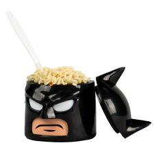 4 Set Bff Lot Dc Comics Wb Lego Batman Cowl Head Food Container 10.5 oz Scew Lid