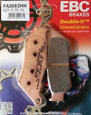 EBC/FA209/2HH Sintered Brake Pads (Front) - KTM 690 Enduro, 950/990 Adventure