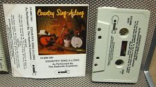 NASHVILLE EXPLOSION Country Sing-Along cassette tape 1977 Springboard
