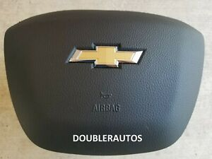 3-PIN 18-19-20 CHEVY COLORADO BLACK AIR BAG LEFT LH DRIVER STEERING WHEEL AIRBAG