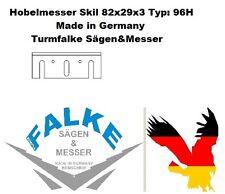 2 Stück Hobelmesser Skil 82x29x3 Typ: 96H