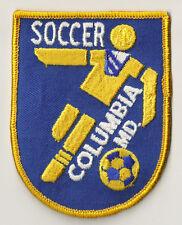 PP-346 écusson brodé patch patche Vintage d'époque Columbia soccer USA