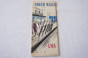 1939 LMS North Wales Railway Travel Guide Publicity