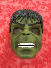 The Incredible Hulk Mask w/Light Up Green Eyes Marvel Super Hero