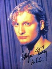 ALICE IN CHAINS LAYNE STALEY autographed 8x10 RP photo