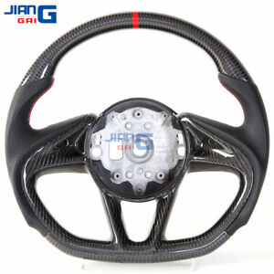 JiangGai Carbon Fiber Steering Wheel Fit For McLaren 720 570 600LT 12C