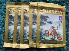 5 Bags  (10Pcs/Bag)  LingRui Musk Strengthen Bone Relieving Pain Plaster Herbal