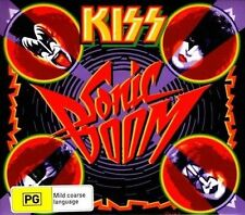 KISS (SONIC BOOM - 2CD/DVD 3 DISC SET SEALED + FREE POST)