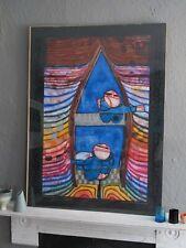 Friedensreich Hundertwasser - Tender Dinghi Poster Print 1997 - Unframed