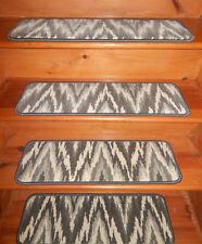 13  Step 9'' x  28'' + Runner  28'' x 77'' Tufted carpet Wool Woven Stair Treads