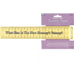 BABY SHOWER MOM TO BE TUMMY TAPE GAME Party Supplies Activity  Mother 150 Ft