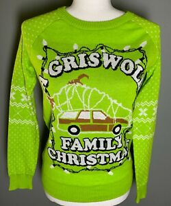 National Lampoon's Griswold Family Christmas Ugly Sweater Small Juniors/Women's