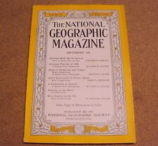 National Geographic September 1946 Arkansas Birds Insect Frontier Sky Tire Ads