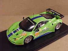 Fujimi 1/43 Resin Ferrari 458 Italia GT2, 2012 LeMans, Krohn Racing  #FJM1343005