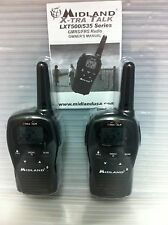 Midland LXT500 22-Channels 2-Way Radios Walkie Talkies Up To 24 Miles Pair/Order