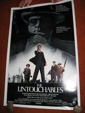THE UNTOUCHABLES original MOVIE POSTER > ROLLED 1987 > 1980's mafia gangster
