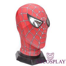 Original toby Amazing Spider mask hood Spiderman Headwear 3D eyes Face Mask