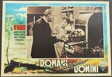 Domani Saranno Uomini - Pat O'Brien & Una O'Connor - Film Poster Plakat (Y-4538+