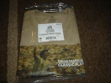 Maradona-Classic Player-(Pebble Color Shirt) Size XL