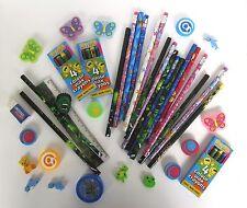 100 Stationery Party Bag Fillers Toys Boys Girls Fundraising PTA Job Lot Pinata