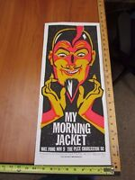 2006 Rock Roll Concert Poster My Morning Jacket Print Mafia S/N#100