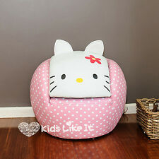 Limited Edition PINK Girls HELLO KITTY PVC Leather SOFA Couch BEDROOM Furniture