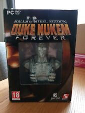 Duke Nukem Forever: Balls of Steel - Collector's Edition PC. Complete.