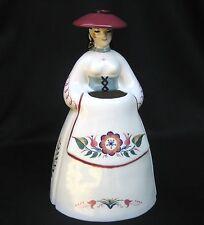 Vintage 1940s Brayton Laguna Webton Ware Lady Figurine/Flower Holder Vase Calif