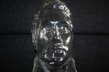 Elvis Kopf aus Glas