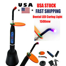 Dentist Dental Wireless Cordless Led Curing Light Lamp 1500mw Cm Resin Cure 5w
