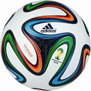 adidas Brazuca OMB Spielball Matchball WM 2014 in Brasilien Größe 5 [G73617]
