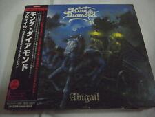 KING DIAMOND-Abigail 25th. Anniversary JAPAN Press w/OBI 4 Bonus Tracks DVD