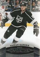 2015-16 Upper Deck Overtime Hockey #39 Marian Gaborik Los Angeles Kings