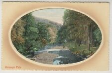 Devon postcard - Bickleigh Vale - Embossed - P/U 1920 (A551)