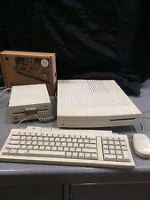 Apple Macintosh LC III Computer with Apple IIe card, keyboard, mouse, disk drive