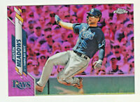 2020 Topps Chrome PINK REFRACTOR #113 AUSTIN MEADOWS Tampa Bay Rays RETAIL