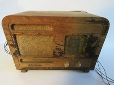 COLLECTIBLE RCA Victor Radio BT-40 Battery Operated (For Parts/Display) Q