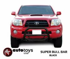 ATU 1998-2004 Toyota Tacoma Black MAX Bull Sport Bar Brush Bumper Grille Guard