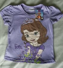Sofia the First age 3-4 T-shirt/Top New Official Genuine