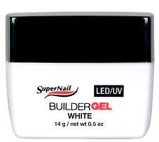 SuperNail LED/UV Builder Gel White 14g / 0.5oz - 51680