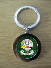 ROSS CLAN KEY RING (METAL) IMAGE DISTORTED TO PREVENT INTERNET THEFT