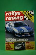 Rallye Racing Fleischmann Alpine Ford Capri 3,0 S Mercedes CW 311 + Poster
