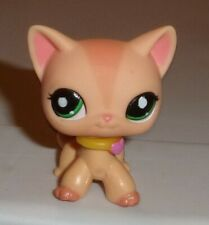 2006 Lps Littlest Pet Shop Peach Orange Tiger Short Hair Kitty Cat #1764