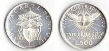 1958 Vaticano Lire 500 Argento Sede Vacante Fior Di Conio UNC